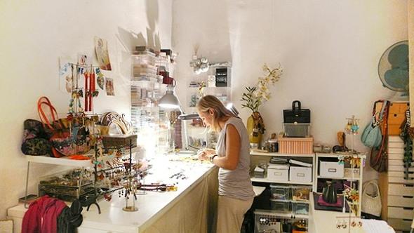 Mimi Scholer Barcelona Shopfront